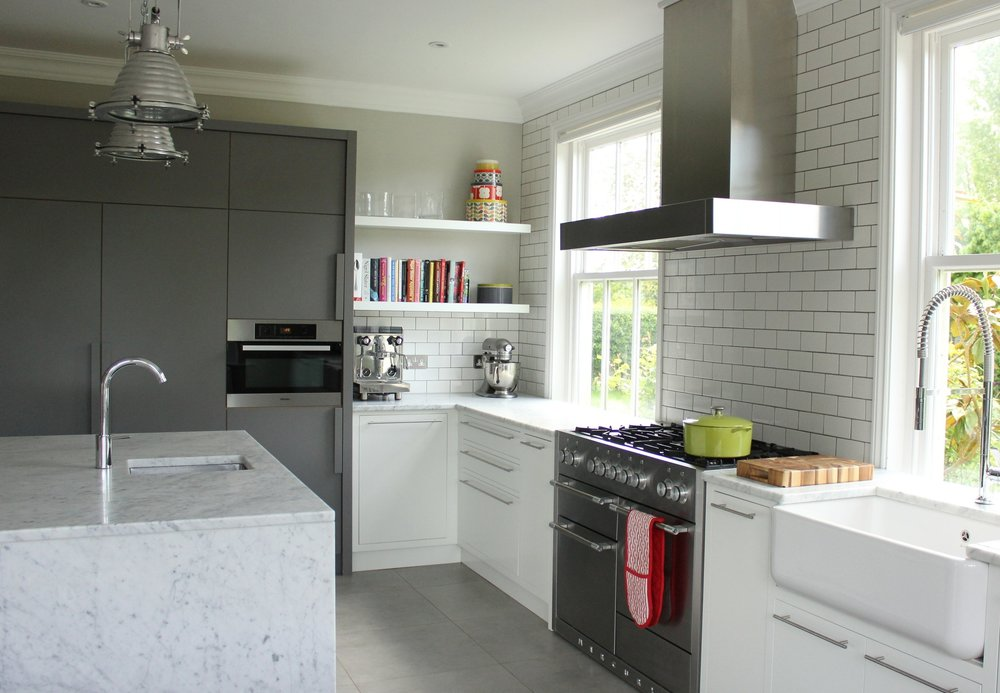 bespoke kitchen by EWD