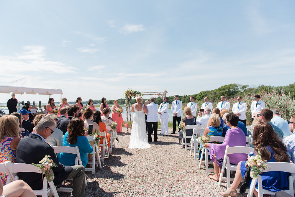 RI Beach Wedding - CLICK HERE for full gallery