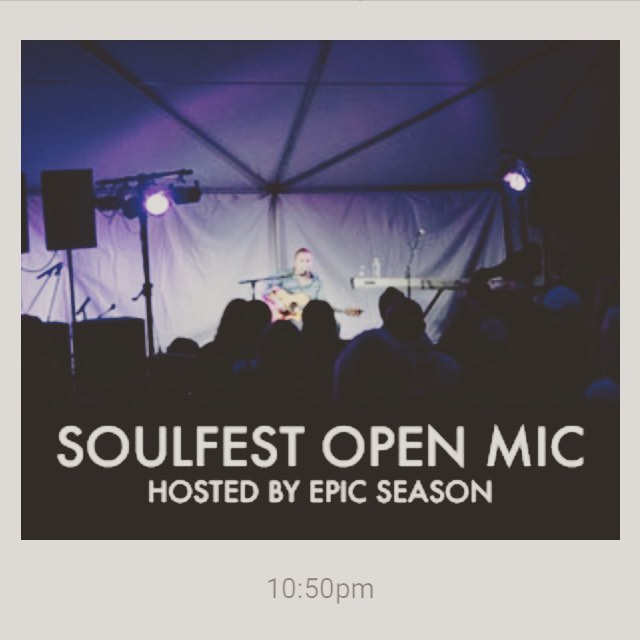 You want to play a song at Soulfest 2016?? Well now you can! The late night open mic returns to SoulFest!  For one hour each night of the festival, we will be hosting an topen mic series at the Justice Center.  This will take place immediately after the headliner finishes their set.  This is an acoustic sessions (no drums / percussion due to Gunstock's noise ordinance / curfew)  Application process: -Please, send email submissions to openmic@thesoulfest.com - Do not send mp3's - Please send links to music or videos.  Also, include: -A brief description about yourself and the song you would like to perform. - The number of people who will be performing.  We'd LOVE to see you there!