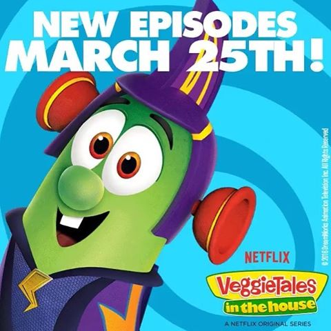 "How many of you guys watched Veggie Tales as a kid?? (Or maybe still do as an adult ;) ) Well super cool news guys! One of our band members, Matthew, had the opportunity with his brother and Best friend (both named Nathan) to record a song for Veggietales! And the episode of Veggie Tales 'In the House' that it is featured in, is out on Netflix today!! The song is called ""I love Sardines"" and is in the episode ""Larry lives it up"" (Season 3, Ep, 12) Check it out! :)"