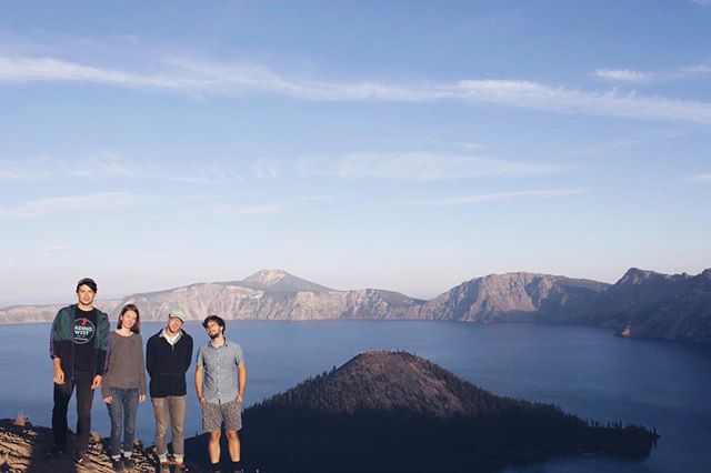 Spent our day off at Crater Lake!