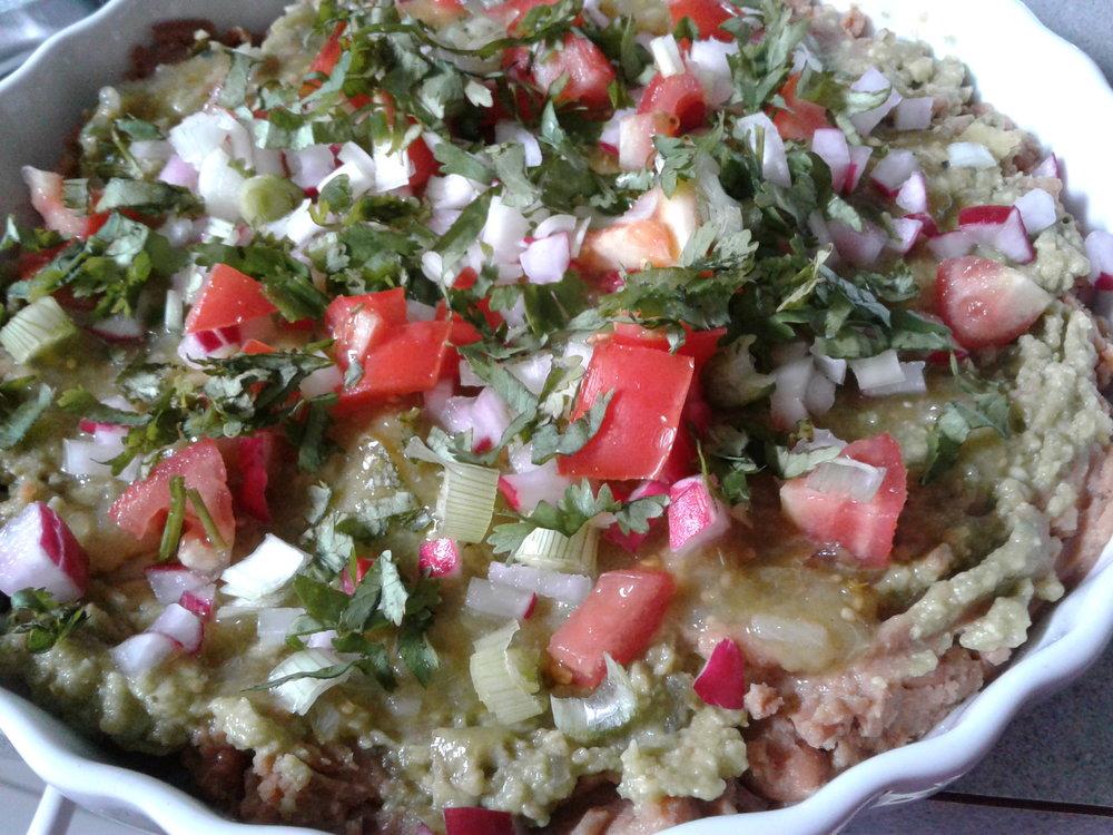 Layered Bean Dip Refried Green Sauce.jpg