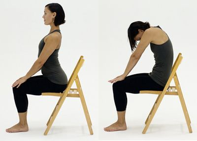Incorporate this gentle stretch daily. Arch, round, repeat.