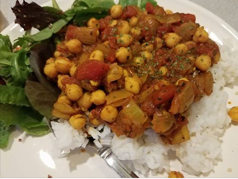 My Chana Masala - need help with your meal plan? Contact me!