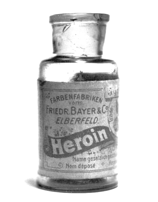 From 1898 through to 1910, diamorphine was marketed under the trademark name   Heroin, by Bayer,   as a non-addictive morphine substitute and cough suppressant.