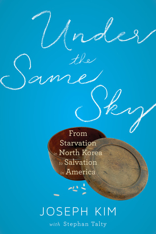 Under the Same Sky - Famine killed his father and caused his mother and sister to flee. Somehow Joseph Kim managed to survive on his own. Begging and stealing on the streets until he made his way to an American Consulate, Joseph entered America as a North Korean refugee, then lived with a foster family whilst continuing his studies.