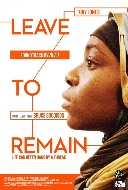Leave to Remain - This film is about teenage asylum seekers in the UK as well as British weather, FGM, the legal system, age disputes and learning English. Toby Jones stars as a big-hearted English teacher, with other parts played by teenage refugees.