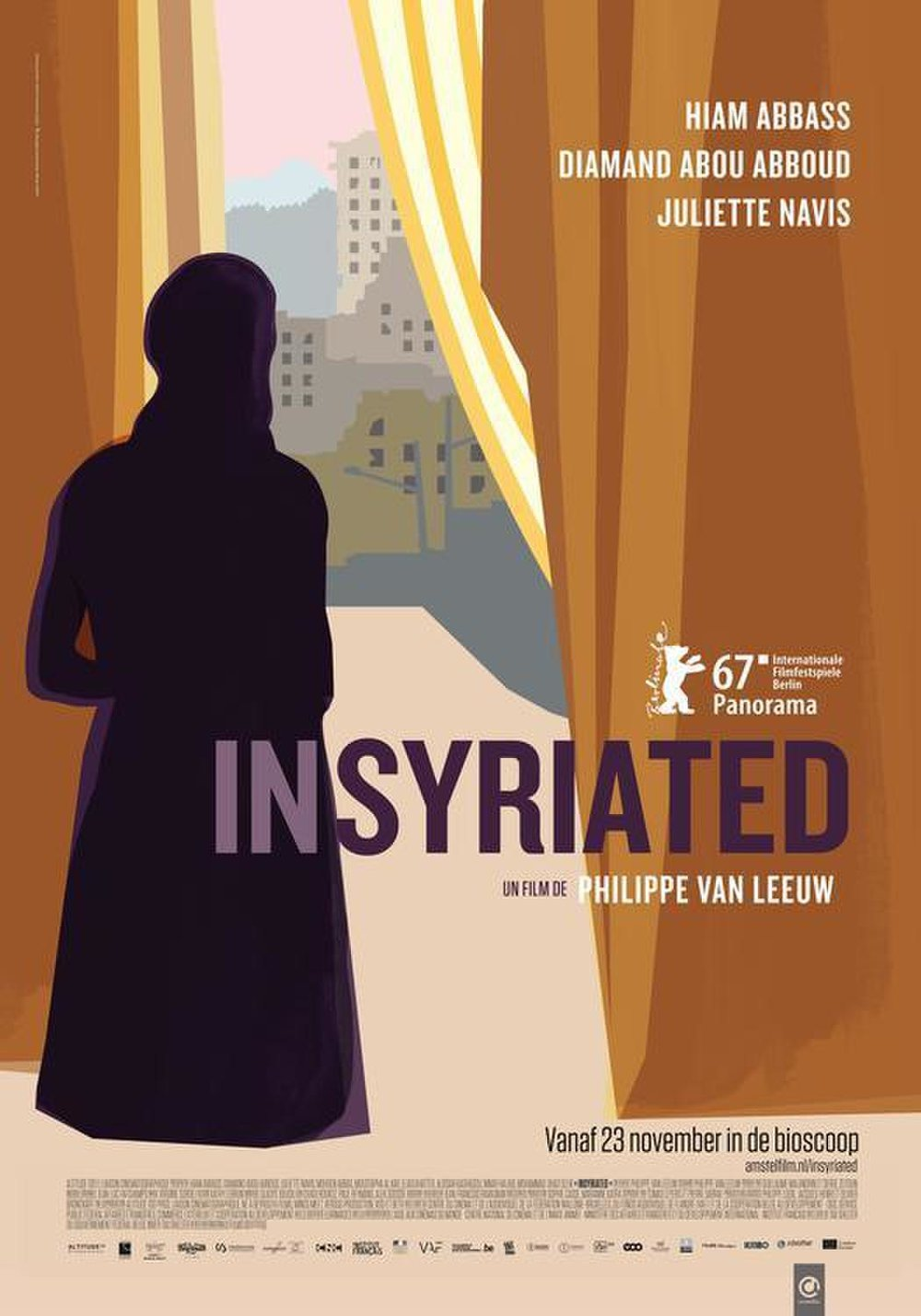 Insyriated - A tense, claustrophobic film. The action is focused on a family trapped inside their home in a city under siege. Horrible, oppressive and brutal. When I watched this at the cinema, people silently stumbled out, too numb to speak. But this is just a film. How much more terrible must reality be?
