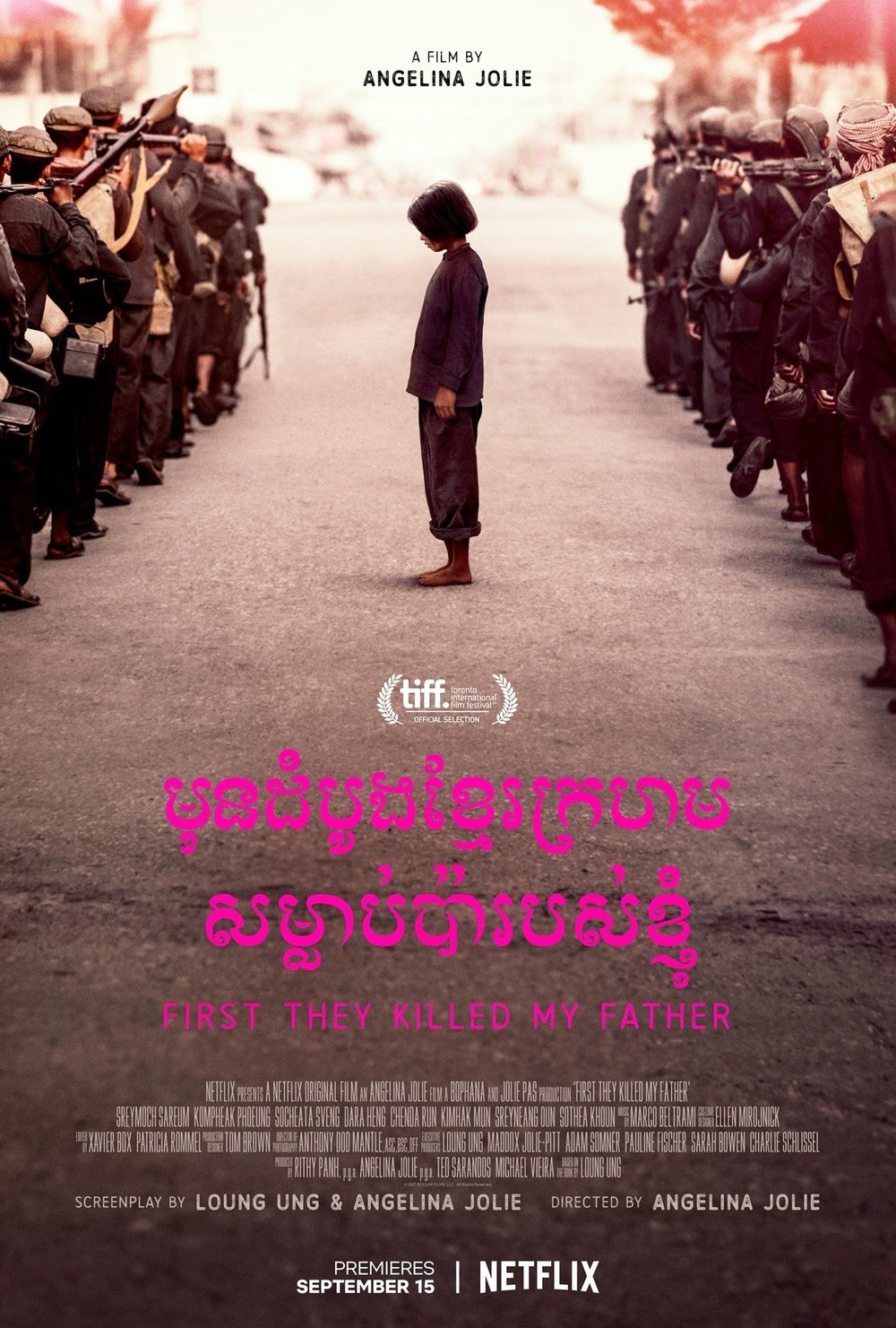 First They Killed My Father - Based on the book of the same name, directed by Angelina Jolie, the film shows the chaos caused by the Khmer Rouge in Cambodia which displaced millions in the 1970s.