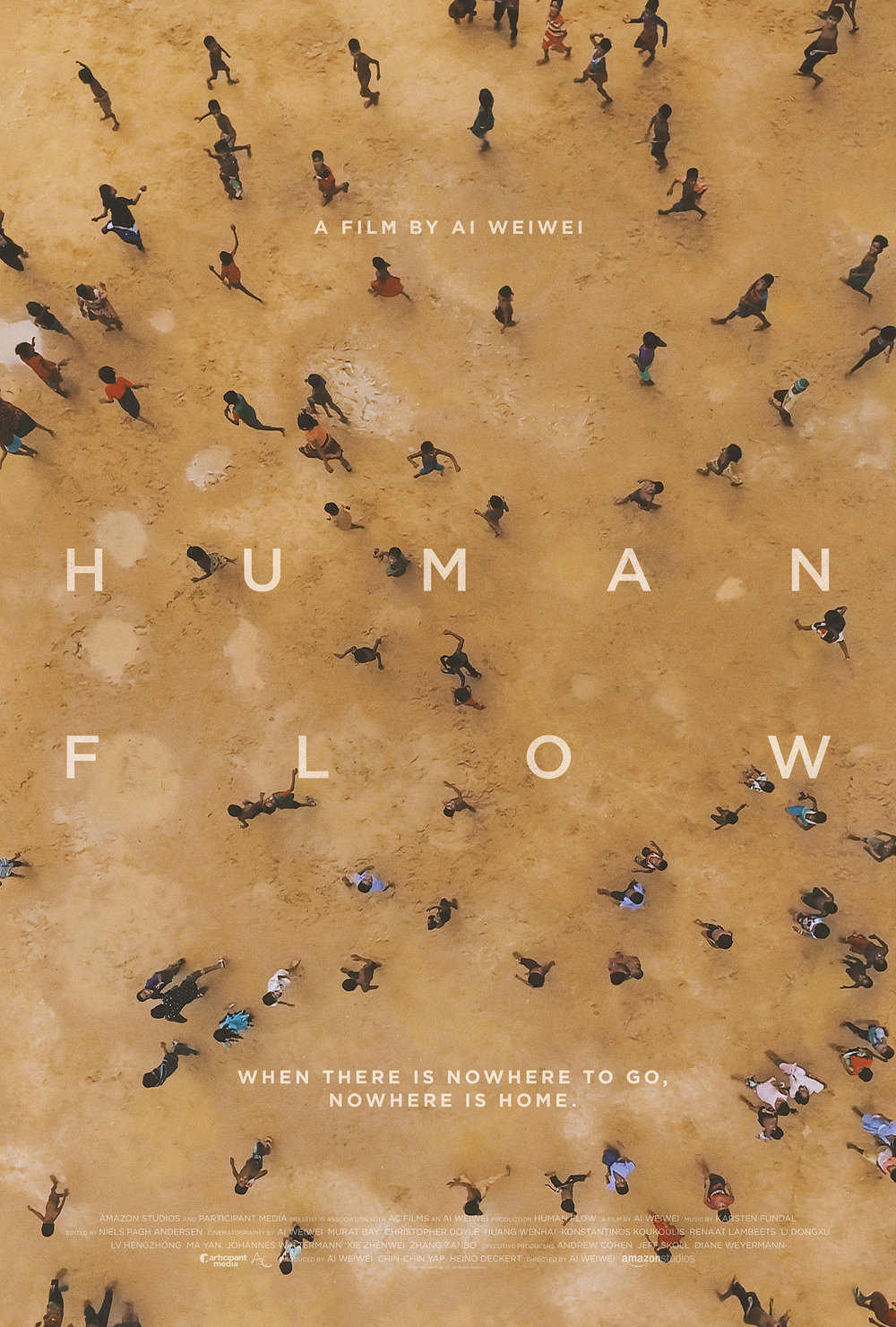 Human Flow - Featuring drone photography and twenty-three countries, Ai Weiwei demonstrates the scale of forced migration worldwide. In a similar way to Fire At Sea, the camera does not turn away from those on the move. No solutions are suggested and instead the documentary focuses in on the worldwide scale of displaced people. Bethany called it