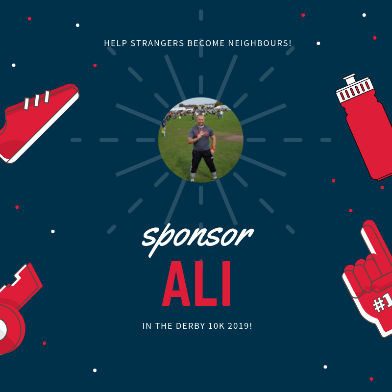 Click the image to visit Ali Cherni's fundraising page