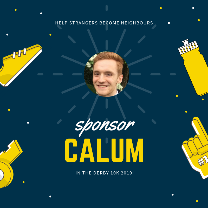Click the image to visit Calum Hird's fundraising page