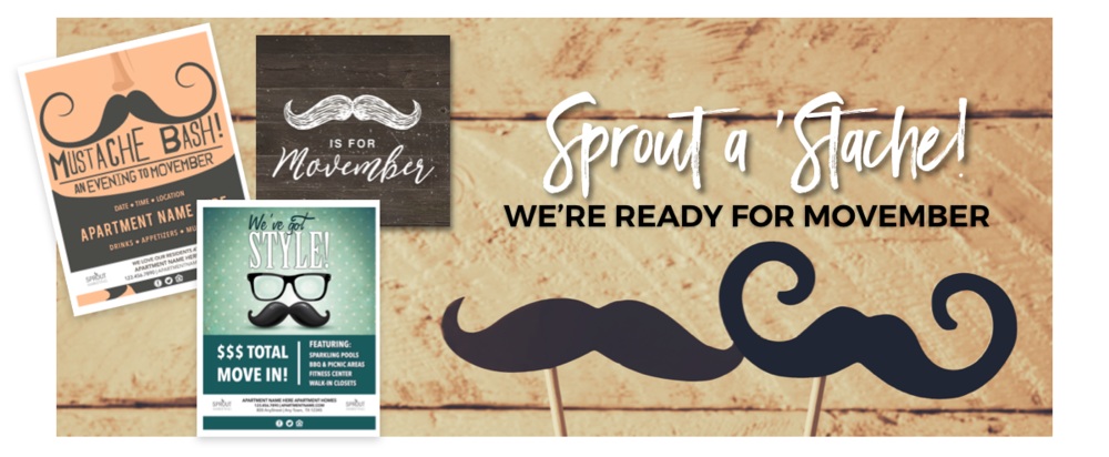 Movember for Apartment Marketing