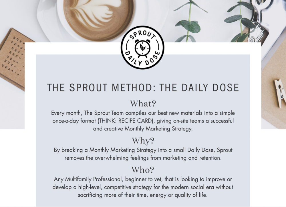 The Sprout Marketing Daily Dose