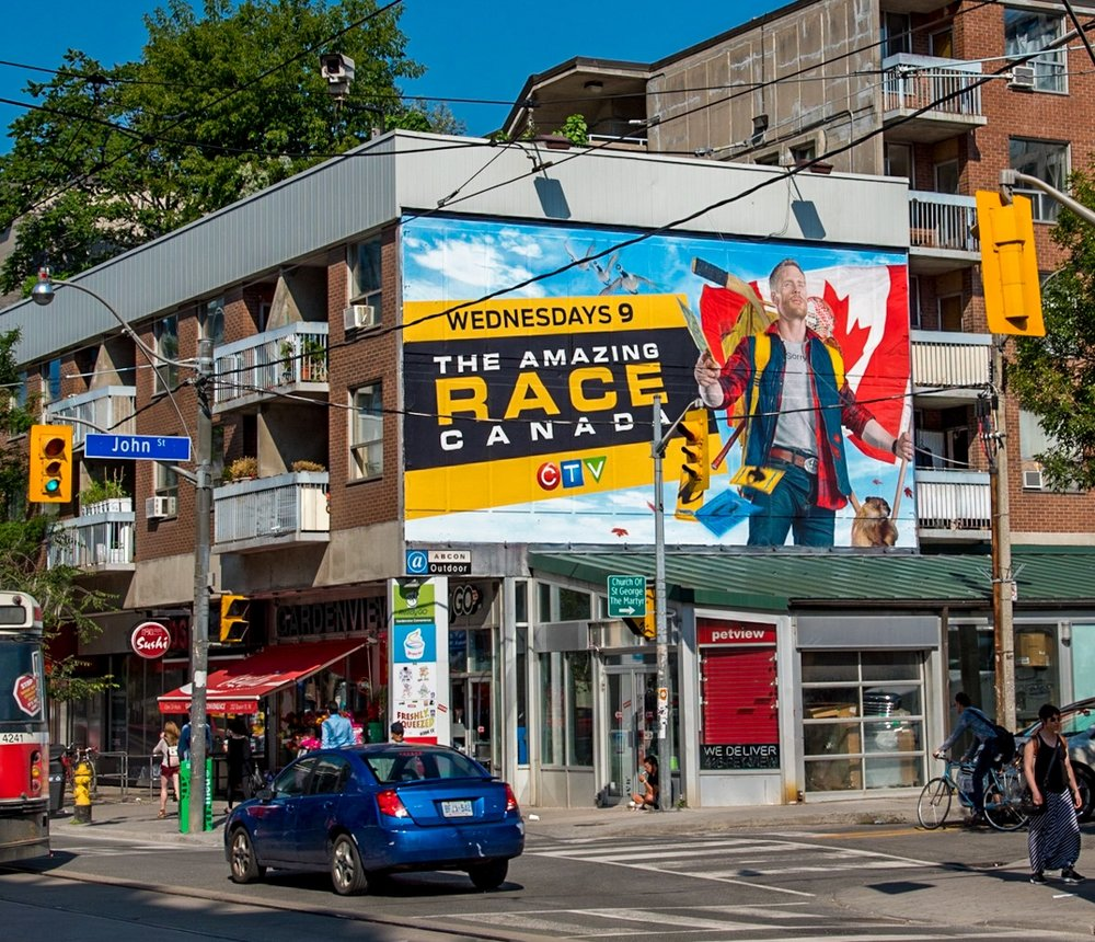 Amazing Race Canada mural