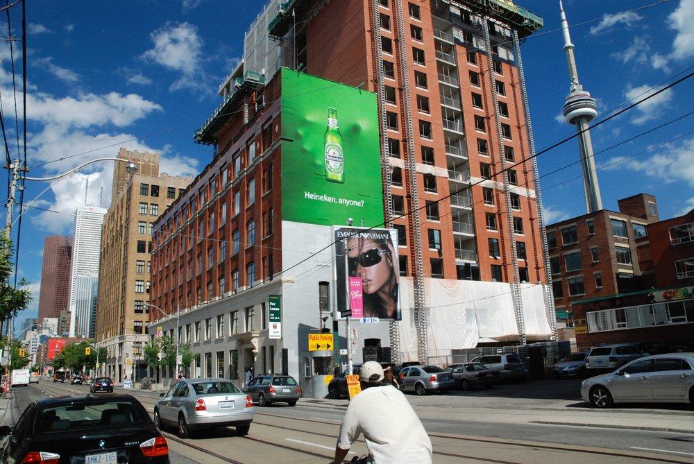 Heineken mural