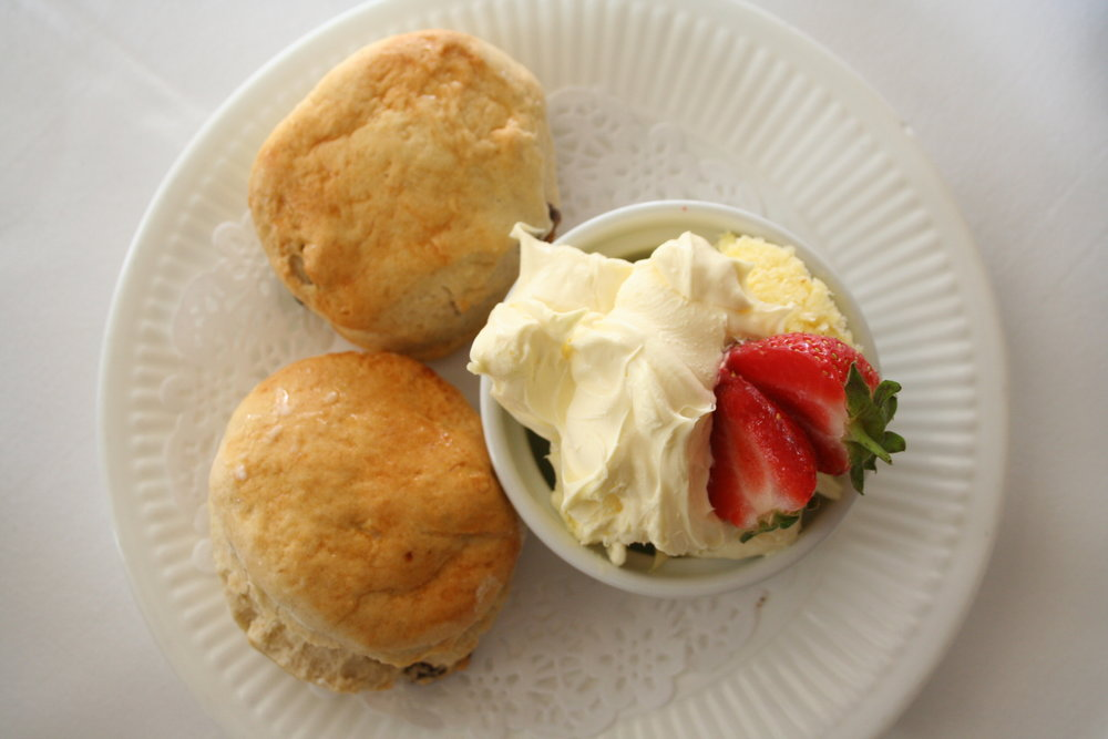 Devon Cream Tea at the Commodore