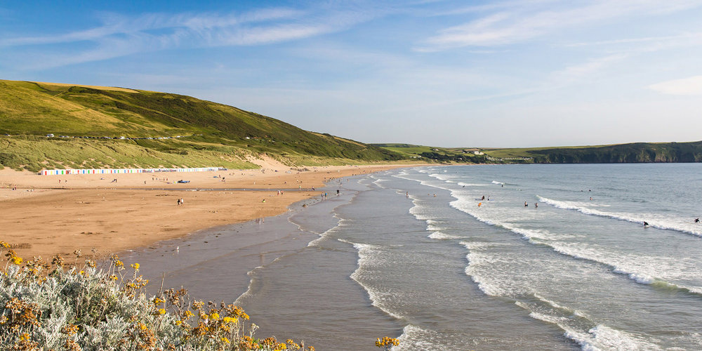 Award winning Beaches like Woolacombe
