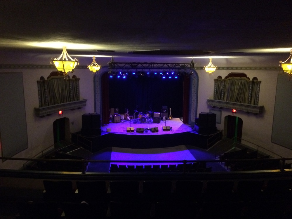 Stage is set for Purusa's Repair record release at the Aladdin Theater, Portland