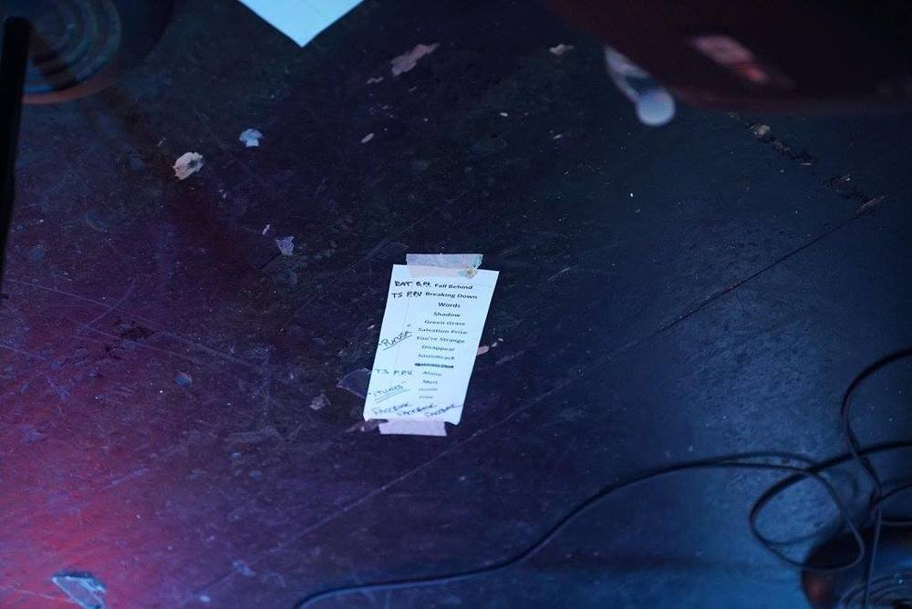 Tiny setlist. Purusa live at Analog Cafe, Portland.