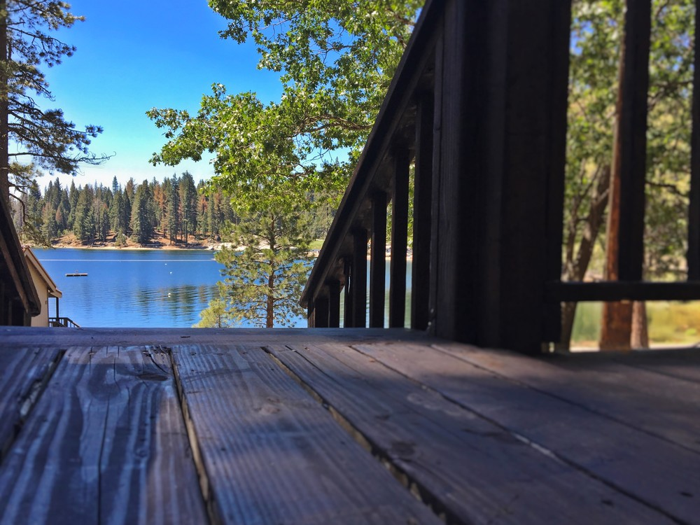 All of your lake day activities just down the steps from Cottage 16