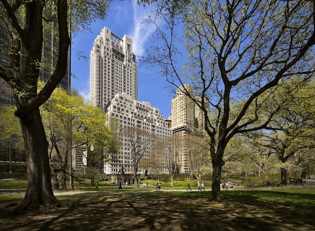 15 Central Park West, photo courtesy of RAMSA