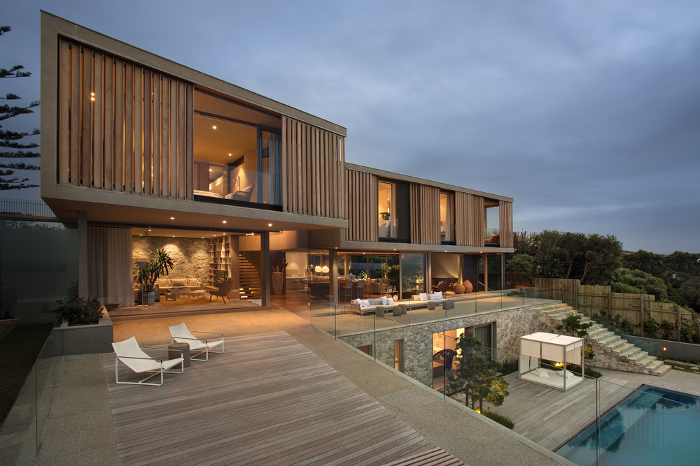 Beachyhead pool and back terrace by SAOTA