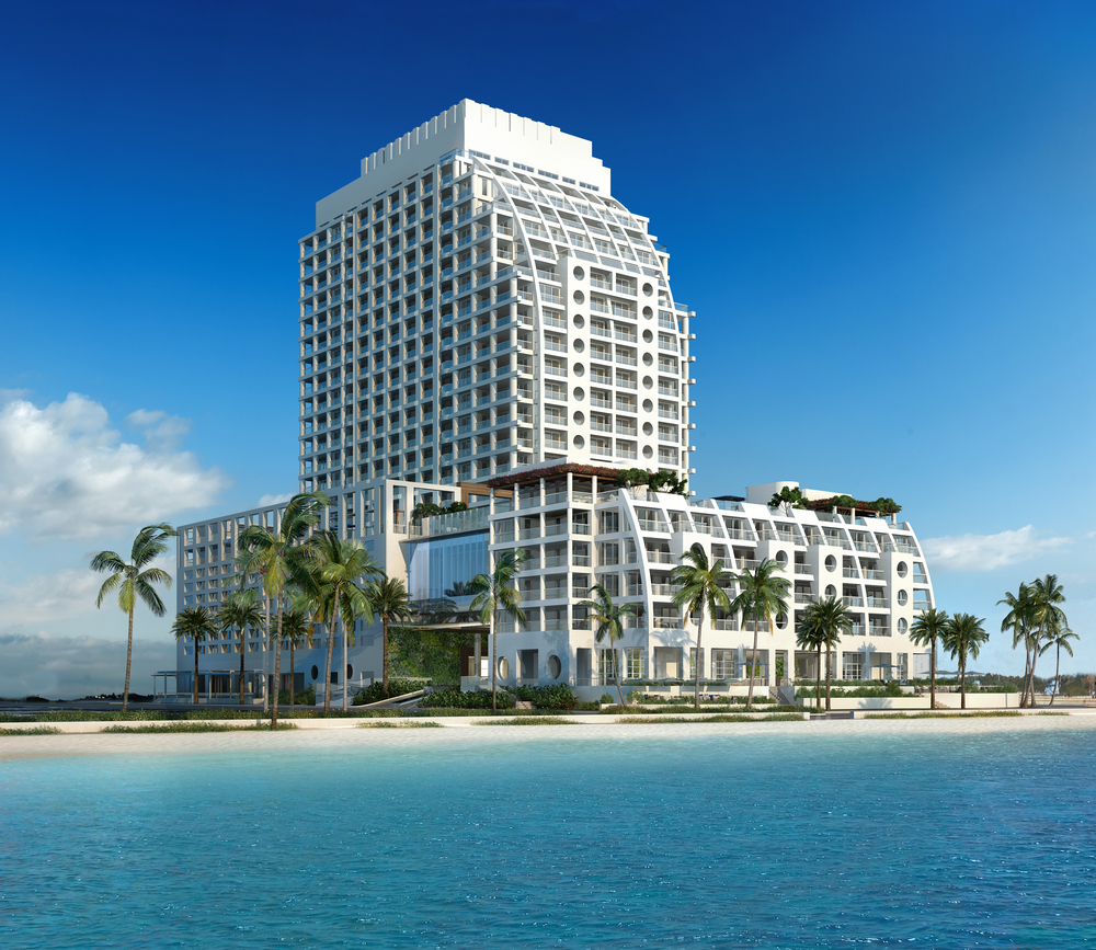 The Ocean Resort Residences at Conrad is a beachfront property in Fort Lauderdale