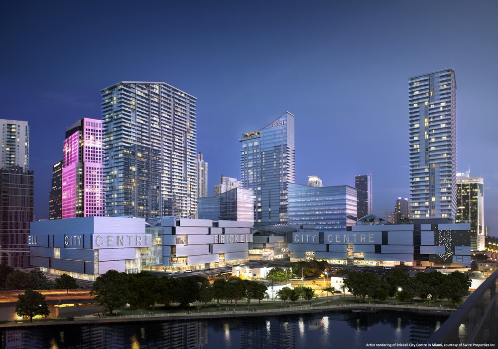 Swire Properties, Brickell City Centre is set to import a Hong Kong-style urbanism to south Florida