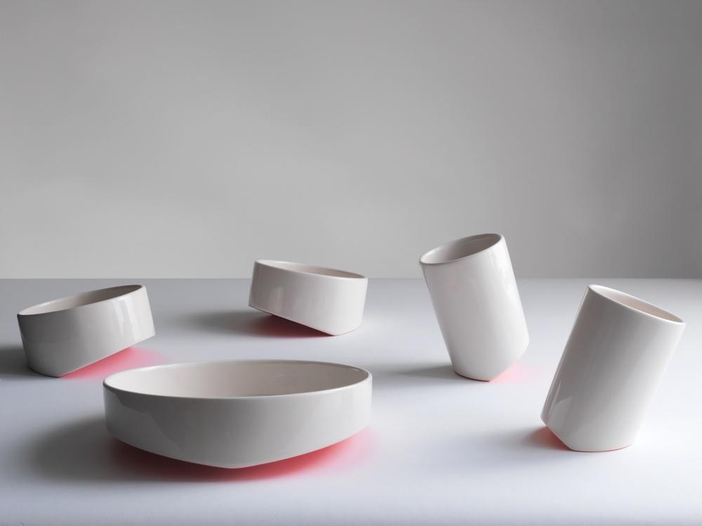 Share Food ceramic tableware set by Bilge Nur Saltik