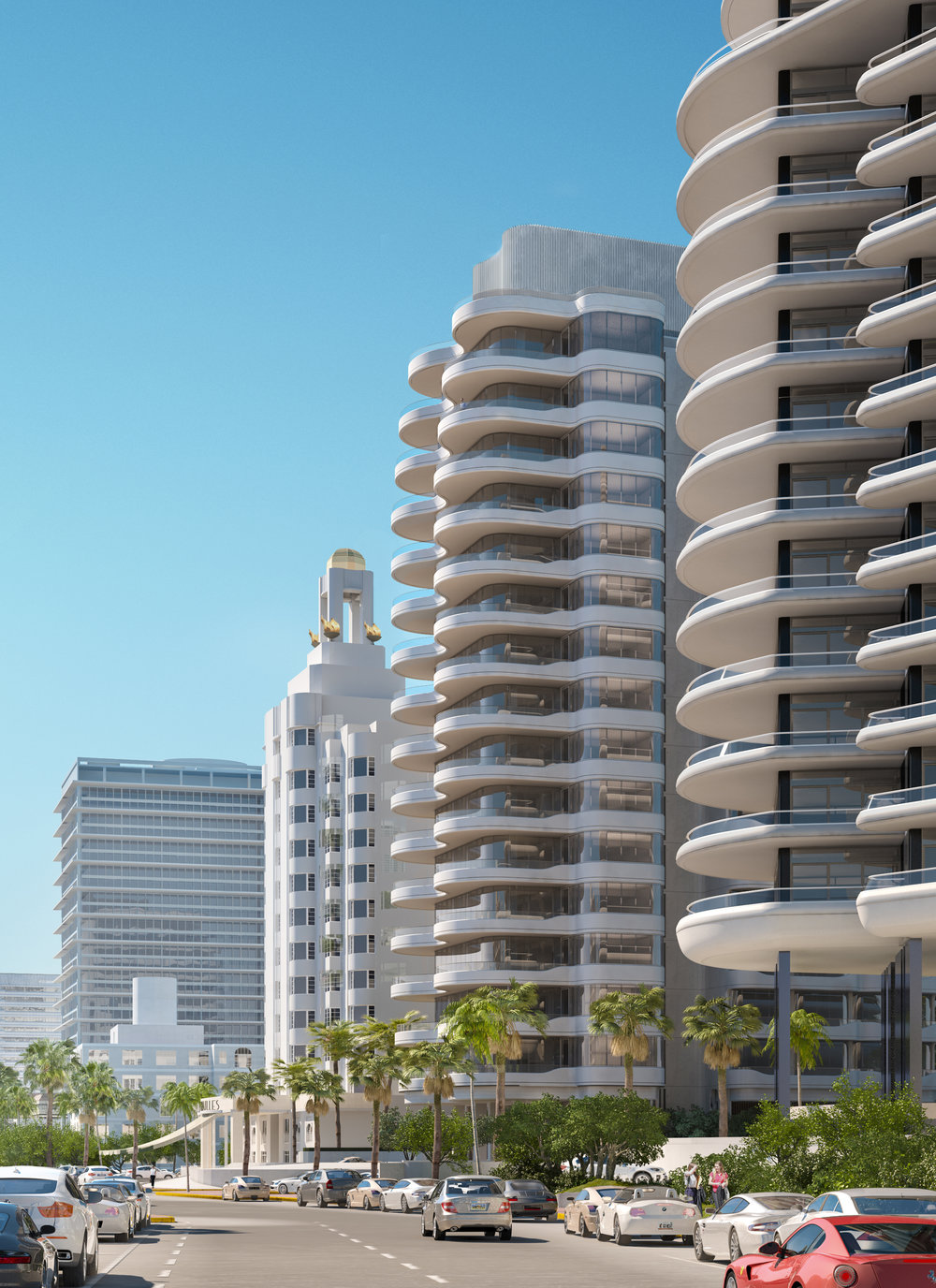 Brandon Haw took inspiration from Miami's art deco past for Faena Mar, a luxury condominium in the Faena District.