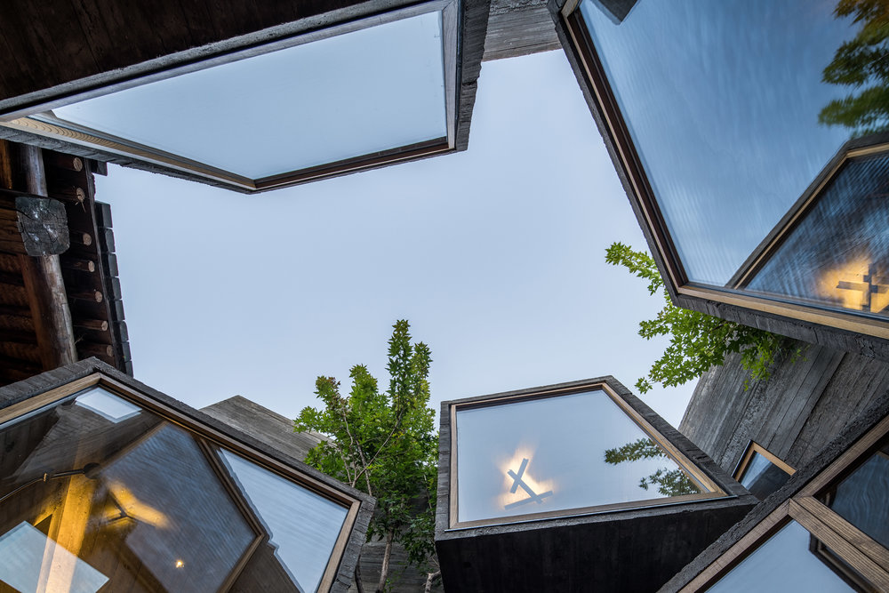 The Micro Hutong, an adaptive re-use project by Beijing-based ZAO / standardarchitecture
