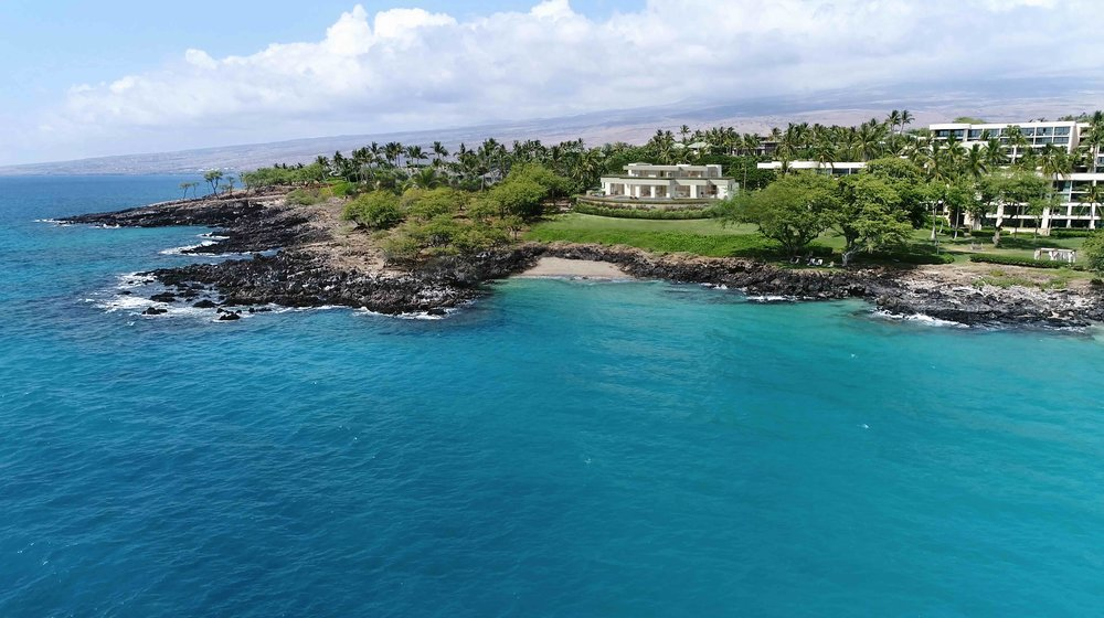 The Hapuna Beach Villa at Mauna Kea Resort is listed for US $21.995 million