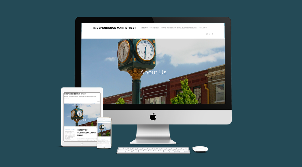 Independence Main Street Website