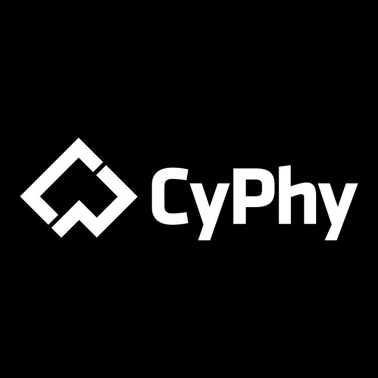 Cyphy Logo White On Black