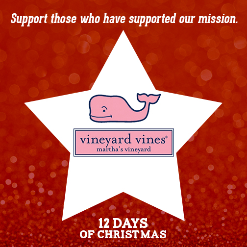 this holiday season we invite you to give a gift with a purpose by shopping at vineyard vines who believe every holiday should feel this good