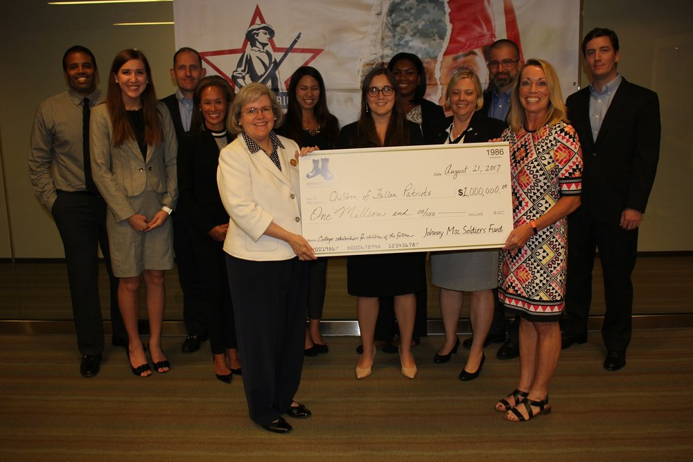 Johnny Mac Soldiers Fund Presents Children of Fallen Patriots With 1 Million Grant.JPG