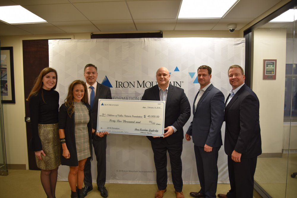 CFPF Receives $45,000 Donation from Iron Mountain Inc..jpg