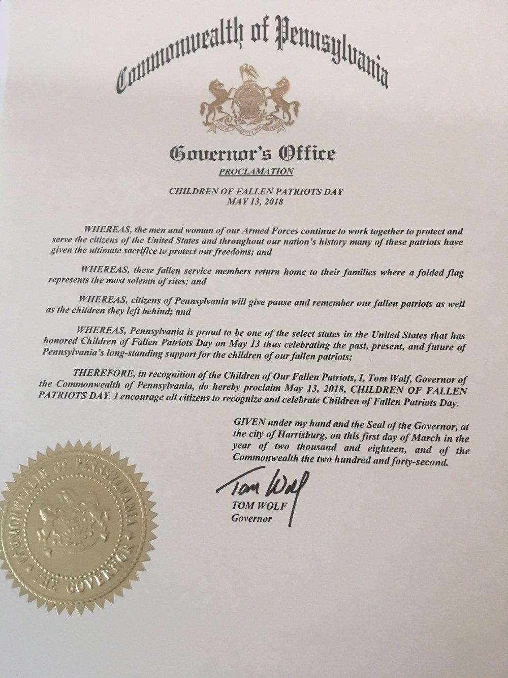 Pennsylvania 2018 Proclamation.jpeg