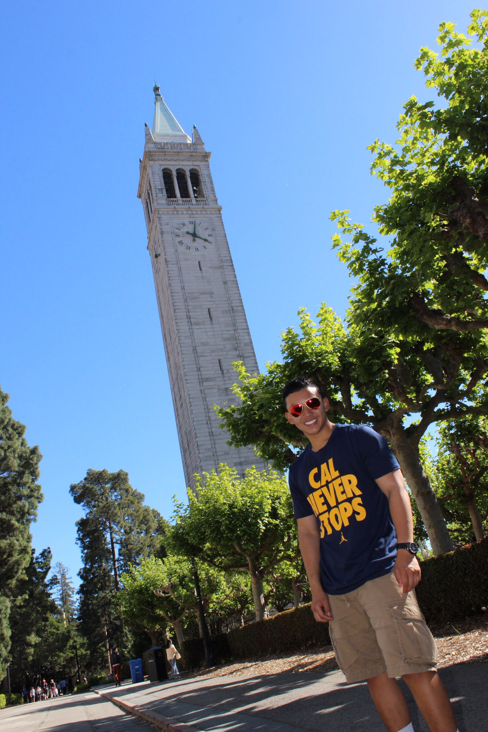 Justin Mariano is studying biology and global health at University of California – Berkeley. He plans to become a medical doctor.