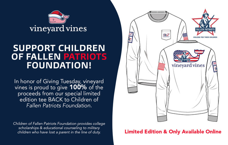 3e664fb4 Vineyard Vines — Children of Fallen Patriots