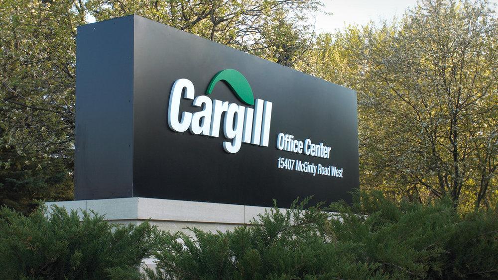 Cargill monument signage design