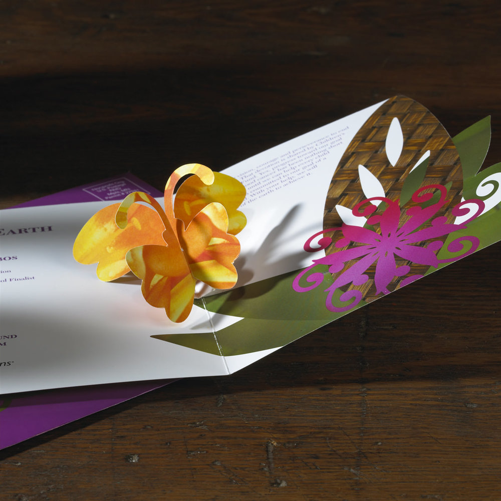 Pro bono design of the Children's Cancer Research Fund Gala invitation