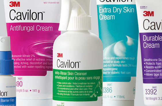 3M™ Cavilon™ brand identity and package design