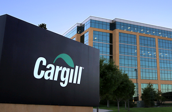 Cargill corporate logo and monument signage