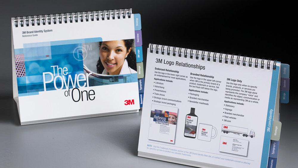3M brand identity system desktop reference tool