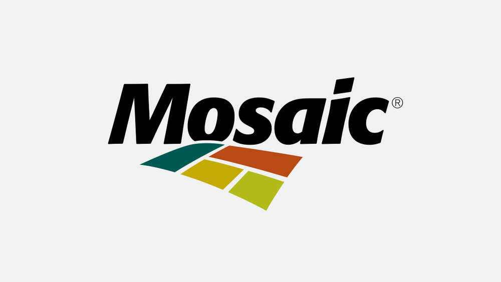 The Mosaic Company corporate logo design