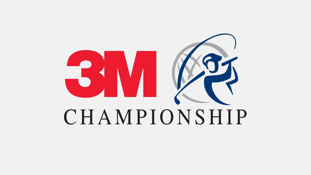 3M Championship logo design