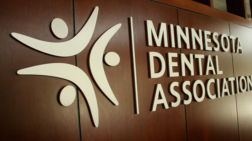 Minnesota Dental Association signage
