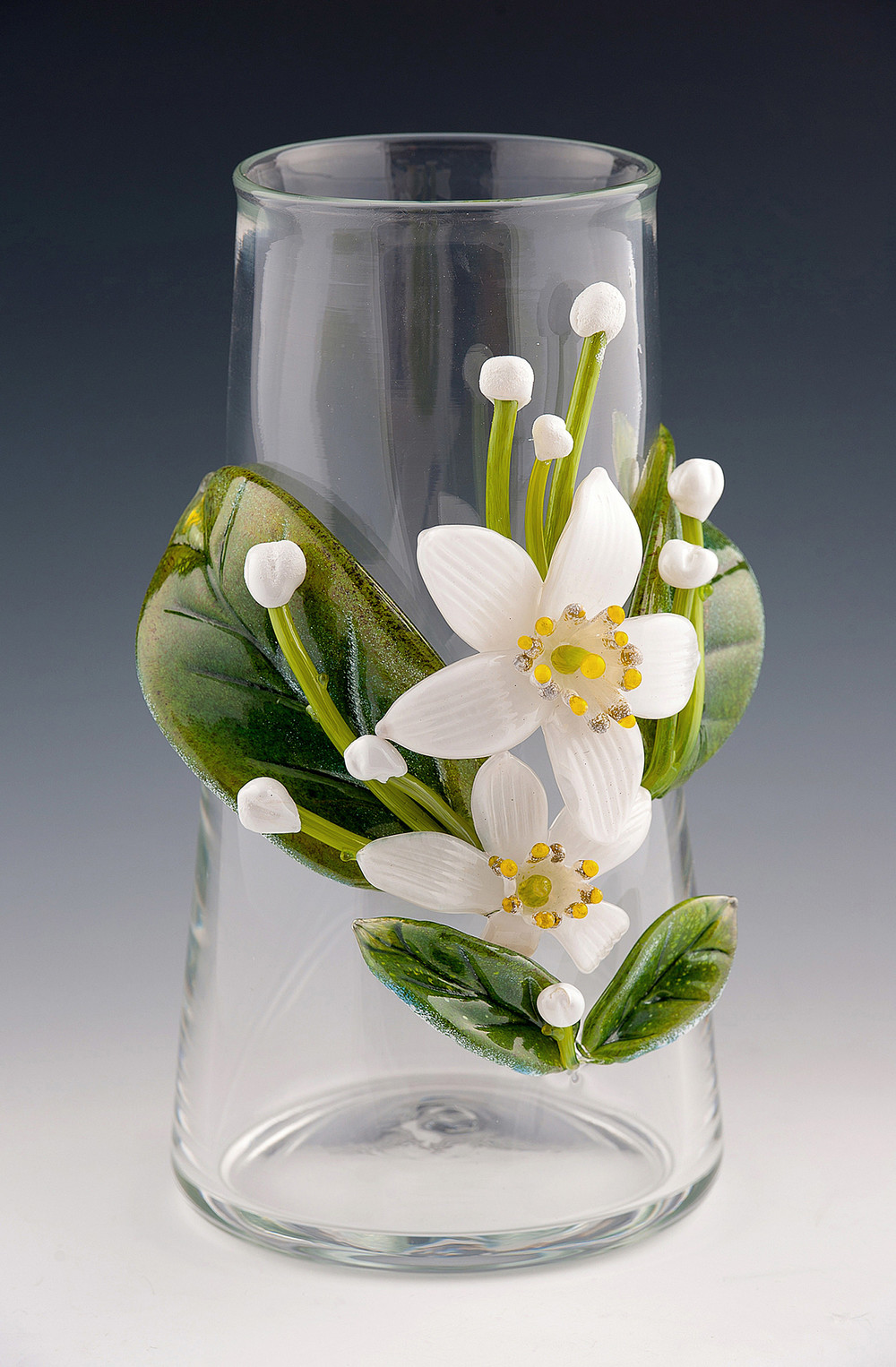 Orange Blossom Vase.